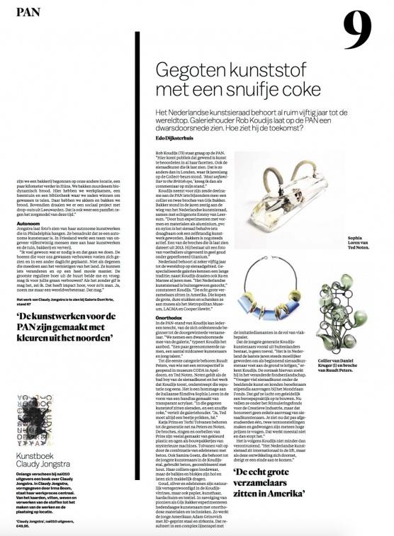 Interview with Rob Koudijs in Het Parool
