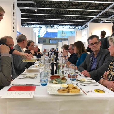 We like to thank you for visiting us at our stand at KunstRai Art Amsterdam 2018.