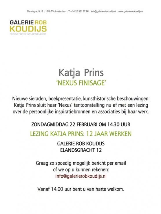 Katja Prins lecture 'Brave New World'