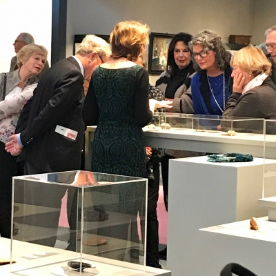 So much fantastic interest in all the jewellery we are showing at PAN Amsterdam!