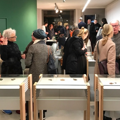 A great start of the new year with two fabulous exhibitions by the fantastic HELEN BRITTON and new talent SAMIRA GOETZ.
