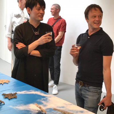 Once more the last one of the cultural season: opening ALEXANDER BLANK + TAKASHI KOJIMA