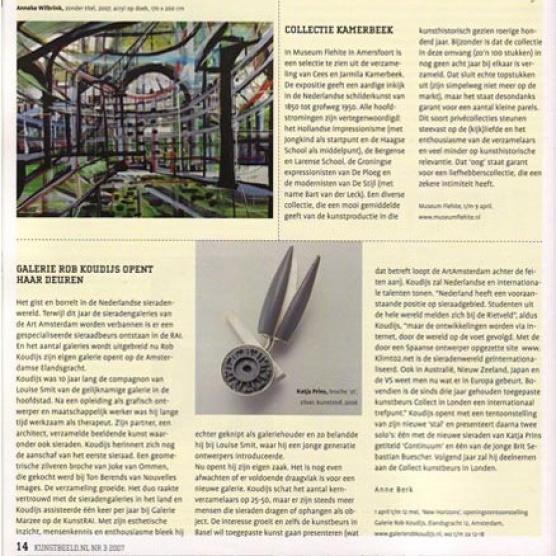 Galerie Rob Koudijs opent haar deuren