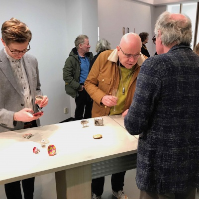 Great start of the New Year: two fantastic exhibitions by PAUL ADIE and ESTELA SAEZ.